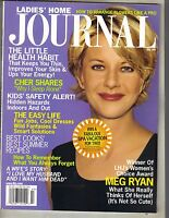 MEG RYAN Ladies' Home Journal Magazine 7/99 NOT SO CUTE NO LABEL PC
