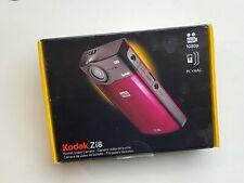 Kodak Zi8 Pocket Camcorder - Hd 1080P High Definition 3 batteries Sd card & more