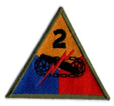 U.S.ARMY WW2 CUT-EDGE 2nd ARMORED DIVISION PATCH
