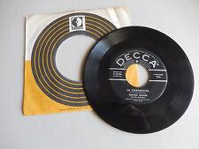 WERNER MULLER tango desire / la cumparsita  DECCA COMPANY SLEEVE    45
