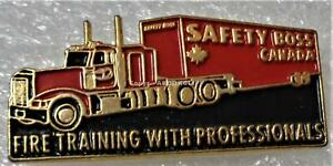 SAFETY BOSS FIRE & RESCUE TRAINING FIREFIGHTING TOOLS Lapel Pin