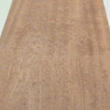 """Sapele Pommele (Quilted) wood veneer 12"""" x 89"""" raw no backing 1/42"""" thickness"""