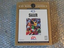 PC FIFA INTERNATIONAL SOCCER GOLD EDITION ELECTRONIC ARTS 1996 New and Sealed.