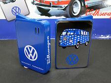 "feines KULT Feuerzeug ""CHAMP"" VW MIRROR blau - NEU & ovp - 210175"
