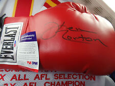 Ken NORTON PSA/DNA COA autographed B signed auto GLOVE epic bouts Muhammad ALI $