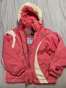 Obermeyer Girls I-Grow System Ski Jacket Size 8