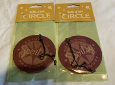 Lot Of 2 Scentsy Scent Circle Fields Of Gold Air Freshener New