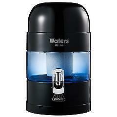 BIO 500 -  5.25 Litre Bench Top Water Filter, Ioniser and Alkaliser - Black
