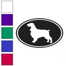 Field Spaniel Oval Dog Decal Sticker Choose Color + Size #3663
