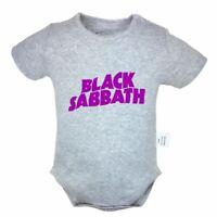 BLACK SABBATH Avenger Newborn Romper Baby Short Sleeve Jumpsuit Bodysuit Clothes