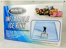 Rave Sports Inflatable Ice Rink Skating Hockey Outdoor Blow up 10' x 13'