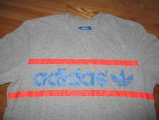 Adidas (Blue Label) 3 Stripes Reflective (LG) T-Shirt