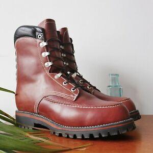 Chippewa Kush N Collar Moc Toe Boots UK8.5 Brand New In Box
