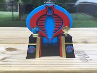 Gi joe cobra 3d printed and hand painted for cobra commander,destro or serpentor