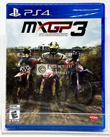 MXGP 3: The Official Motocross Videogame - PS4 - Brand New | Factory Sealed