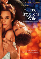 THE TIME TRAVELER' WIFE DVD  Like-New Eric Bana Rachel McAdams