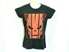 "BLACK T SHIRT RED SKULL SMALL 8 to 10 AUZ  ""NWT"" RRP $25 .C22"
