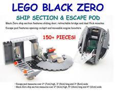 NEW LEGO® 76009 MARVEL SUPER HEROES 150+ PIECES BLACK ZERO SHIP PARTS ESCAPE POD