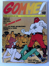 GOMME ! n°18  année 1983; Steven Severin/ Capitaine Rogers