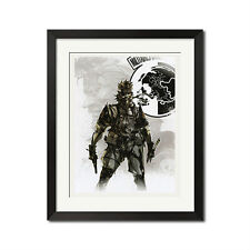 Metal Gear Solid Peace Walker Poster Print