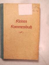 Kleines Kommersbuch - WSC - 1950 - Weinheimer Senioren-Convent / Studentika