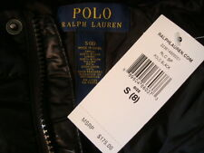 NWT$175 RALPH LAUREN BIG PONY Detachable Hood Down Fill Boys Coat Jacket Sz S(8)