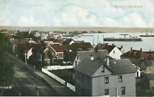 Sydney Cape Breton NS Nova Scotia Town Harbour Houses Ships Vintage Postcard