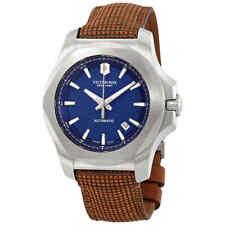 Victorinox I.n.o.x. Automatic Watch Steel Blue 43 Mm 20 ATM V241834