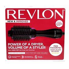 Revlon One-Step Hair Dryer + Volumizer Hot Air Brush Styler Pink+Black RVDR5222