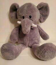 "Animal Adventure Elephant Grey Soft Plush Toy Stuffed Animal 16"" Sweet Sprouts"