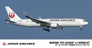 Hasegawa 1/200 Japan Airlines Boeing 767-300ER w/Winglet 10812 Plastic Model Kit
