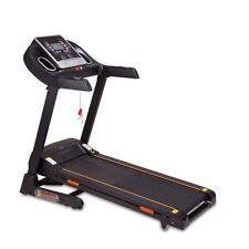 Laufband Fitnessgerät Heimtrainer Sportgerät LCD Display klappbar Schwarz