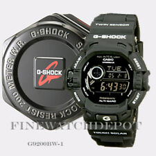 Authentic Casio G-Shock Men's Triple Sensor Black Digital Watch G9200BW-1
