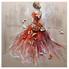 5D Butterfly Girls Diamond Painting Embroidery Cross Stitch Kit Bedroom Decor AU