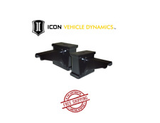 "ICON 6"" Fabricated Blocks w/ Built in Bump Stop For 2005-2020 Ford F250 F350"