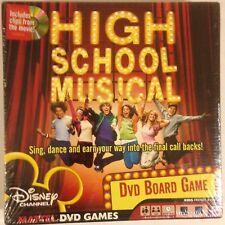 High School Musical DVD Board Game New, sealed 2006 Mattel / Disney Channel