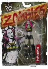 "Wwe Zombie Series Sasha Banks Boss Zombie Figure Mattel Approx. 6"" Brand New"