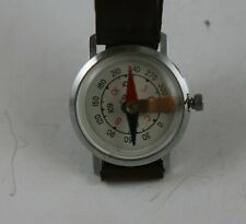 VINTAGE RUSSIAN USSR WRIST WATCH WOSTOK MILITARY COMPASS KN-1