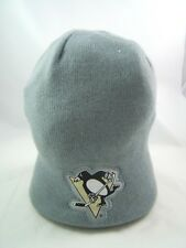 Pittsburgh  Penguins NHL Hockey Coors Winter Hat Gray Toque Beanie Stocking Cap