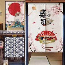 jpanese Nagel Noren Türöffnung Vorhang Baumwolle Leinen Wandteppich Zimmer