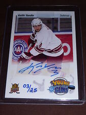 14-15 UD Spring Expo KEITH YANDLE Auto Priority Signings 3/25 *1/1* His JSY#