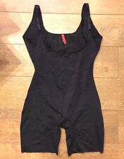 SPANX Slimplicity 991 OPEN BUST BODYSUIT BLACK sz S SMALL NWOT