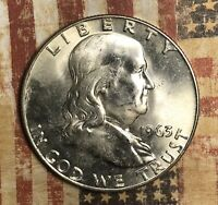 1963-D Franklin Silver Half Dollar Nice Collector Coin for your Collection.