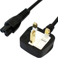 1.8m Reino Unido enchufe C5 Hoja De Trébol Cable de alimentación/Cargador De Plomo 240V 5A portátil