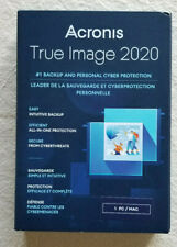 ACRONIS TRUE IMAGE 2020 - 1 COMPUTER PC / MAC New Retail Box Ships FREE 3 DAY !!
