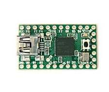 Teensy 2.0 USB Keyboard Mouse AVR arduino ISP Board Mega32u4 U Disk Experiment