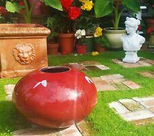 MONSTER! gerald newcomb studio art pottery vase oxblood sculpture vtg seattle