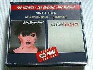 NINA HAGEN - NINA HAGEN BAND / UNBEHAGEN ( 1988 ) 2 CD BIG BOX SET
