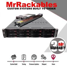 2U Supermicro 6026TT-HTRF Server 4 Node 8x Intel X5675 6 Core 192GB RAM