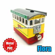 Thomas and Friends Flora Train Magnet Alloy Diecast Cars Rare Loose Kid Gift Toy